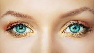 Смотреть онлайн Учимся наносить яркий осенний макияж
