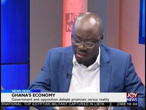 Ghana's Economy - News Desk on JoyNews (9-10-18)