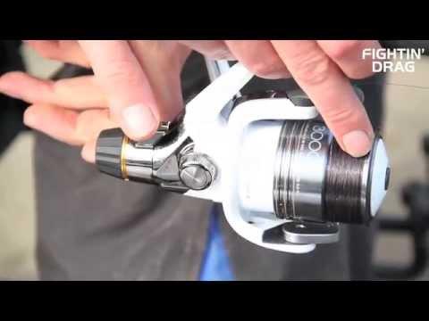 Shimano Stradic GTM RC - harcifékes orsó (több méretben) videó