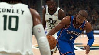 NBA Today 12/9 - Utah Jazz vs OKC Thunder Full Game | NBA 2K