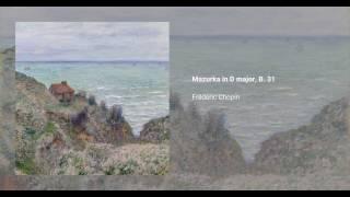 Mazurka in D major, B. 31