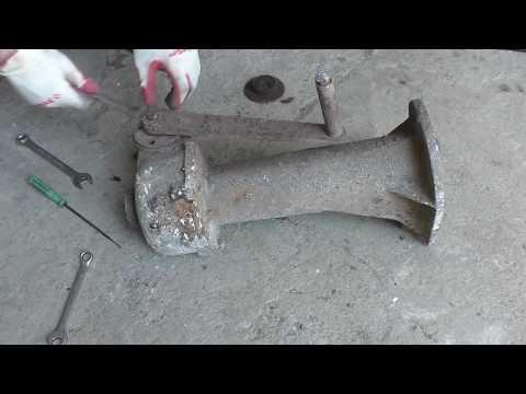 Реставрация мощного домкрата. Jack restoration