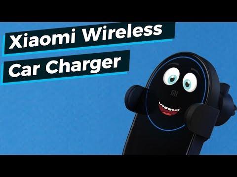 Обзор беспроводного зарядного устройство для автомобиля Xiaomi Wireless Car Charger