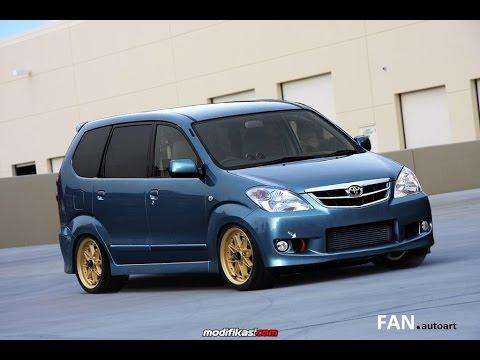 Video Modifikasi Toyota AVANZA Ceper GAUL Abis!