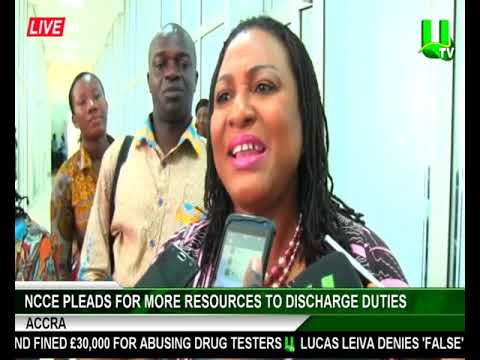 NCCE pleads for more resources to discharge duties