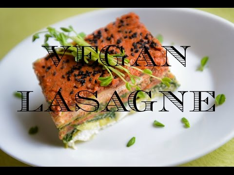 How To Make Vegan Lasagne (Raw)- The Best Recipe! - Day 46 & 47 - THE BIG CLEANSE