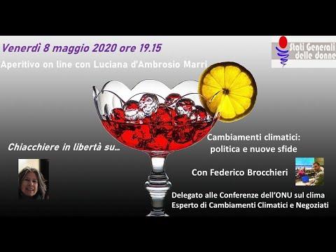 08/05/2020 Aperitivo con... Federico Brocchieri - #StatiGeneraliDelleDonne