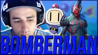 BOMBERMAN NA VIA DO VAREJO (⇀‸↼‶) | FORTNITE