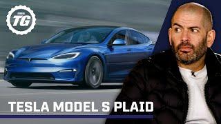 Chris Harris on... Tesla Model S 'Plaid': 0-60 in under 2 seconds | Top Gear