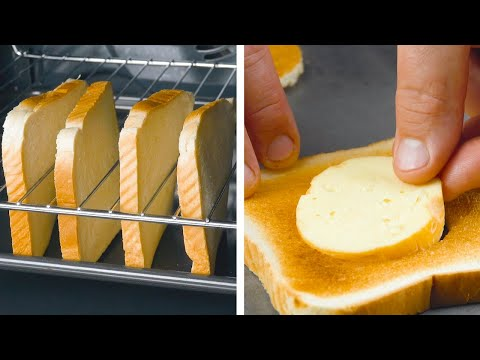 Punch Holes In The Toast And Fill 'Em Up – This Tower Is Crazy!