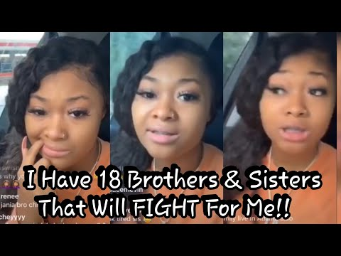 NBA Youngboy Sidechic Arabian LIVE I Have 18 Brothers & Sisters That Will F!9HT For Me