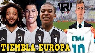 ÚLTIMA HORA: CR7, MBAPPE y MARCELO en la JUVENTUS | DYBALA iría al REAL MADRID |