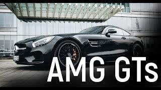 БЕЙБИТ АЛИБЕКОВ. САМЫЙ БЫСТРЫЙ МЕРСЕДЕС В НАШИХ РУКАХ - Mercedes AMG GT S