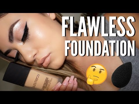 *NEW* Laura Mercier Flawless Fusion Foundation Review! DRY SKIN