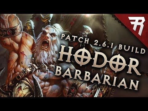 Diablo 3 2.6.1 Barbarian Build: HotA GR 113+ (Guide, Season 12, PTR)