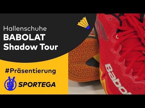 Herren Hallenschuhe Babolat Shadow Tour Black/Red/Yellow