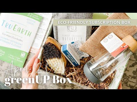 greenUP Box Unboxing April 2021