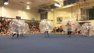 Bumper Soccer USA Bubble Ball Irvine High School 1