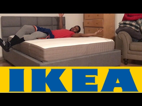 2017 FIRST IMPRESSIONS : IKEA HAUGESUND MEDIUM FIRM SPRING QUEEN MATTRESS