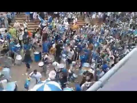 """""""Hinchada de Godoy Cruz vs huracán 2017"""" Barra: La Banda del Expreso • Club: Godoy Cruz"""