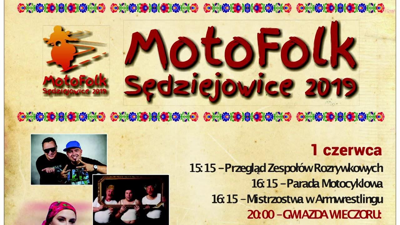 MotoFolk Sędziejowice 2019 – ogłoszenie