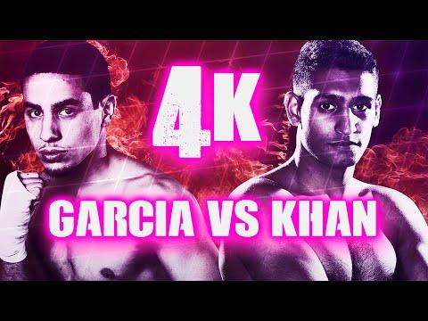 Danny Garcia vs Amir Khan (Highlights) 4K