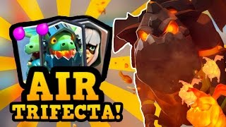 NEW AIRFECTA!! :: 5 Straight 12 Win Grand Challenges! AHCRAAAAP! :: Clash Royale