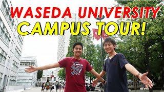 WASEDA UNIVERSITY CAMPUS TOUR! 早稲田大学キャンパスツアー(西早稲田)