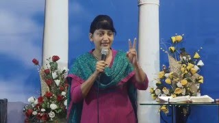 13-1-16 Bible Study Series On Sanctification - Pastor Pramila Jeyaraj
