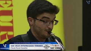 Juan Carlos Entrambasaguas Fernandez plays Sonatine by Claude Pascal