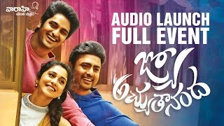 Jyo Achyutananda complete Audio Launch