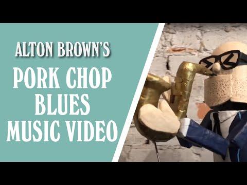 Alton Brown's Pork Chop Blues Music Video