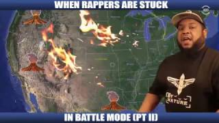 WHEN RAPPERS ARE STUCK IN BATTLE MODE [PT 2]