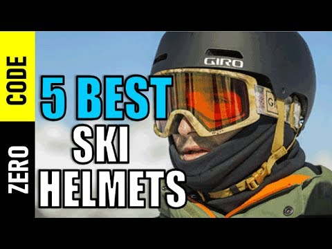 ☑️  5 Best Ski Helmets 2018 | Top 5 Ski Helmets Reviews | Best Ski Helmet Review By Zero Code