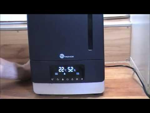 Luftbefeuchter TaoTronics Ultraschall 105W 6L Befeuchter Rezensionen