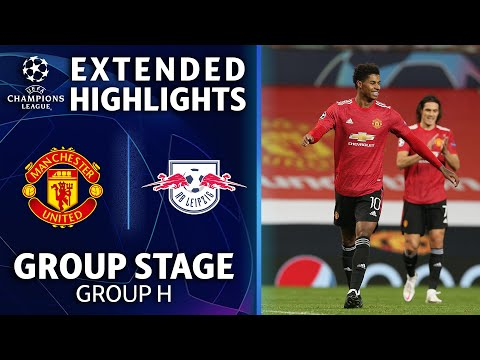 Manchester United vs. RB Leipzig: Extended Highlights | UCL on CBS Sports music video cover