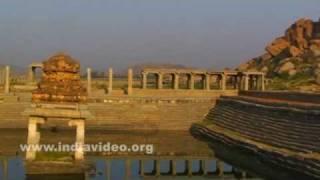 Pushkarani or water tank at Vitthala Bazaar