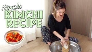 How to Make Kimchi (김장김치 만들기)   JOANDAY #18