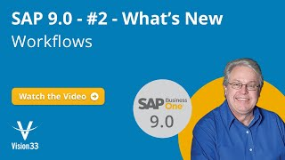 What's New - Workflows | SAP 9.0