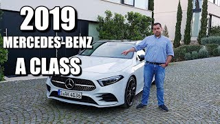 2019 Mercedes-Benz A Class (ENG) #HiMercedes - Test Drive and Review, First Drive