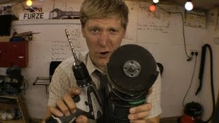 Build a JET ENGINE using only a DRILL, GRINDER and duck tape (NO WELDING) | Kholo.pk