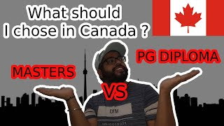 PG Diploma vs Masters in Canada (2020 or 2021) | Difference between Masters & pg diploma
