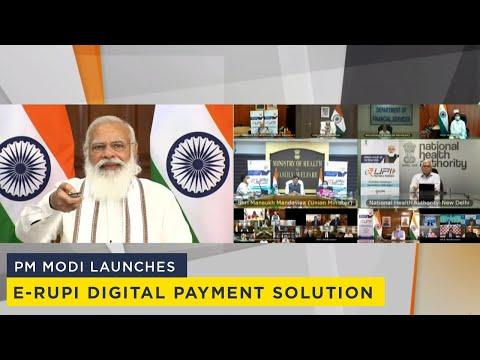 PM Modi launches e-RUPI digital payment solution