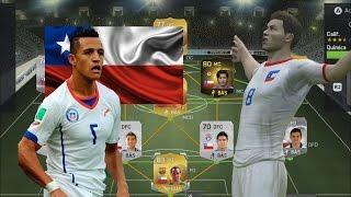 Fifa 15 Ultimate Team, Gameplay en PS4- Contratando jugadores   Armando la Selección Chilena
