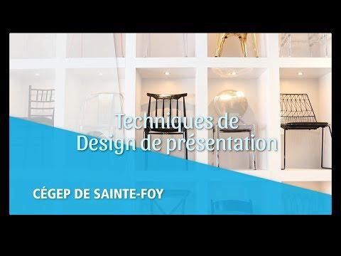 Le travail en design de présentation
