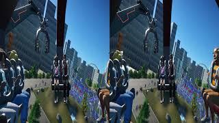 3D-VR VIDEOS 308 SBS Virtual Reality Video google cardboard 2k