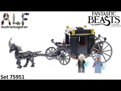 Vidéo LEGO Harry Potter 75951 : L'évasion de Grindelwald (Les Animaux Fantastiques)