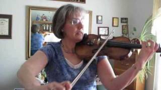 Spirit of the American West violin 1