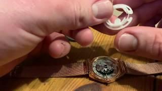 Armbanduhr Batterie Wechsel mit Sprengdeckelböden Druck Boden Eternal Love Damen Analoguhr Anleitung