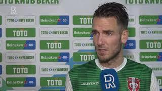 Kevin Vermeulen na FC Dordrecht-FC Utrecht (2-4): 'Geloofd dat er een stunt in zat'